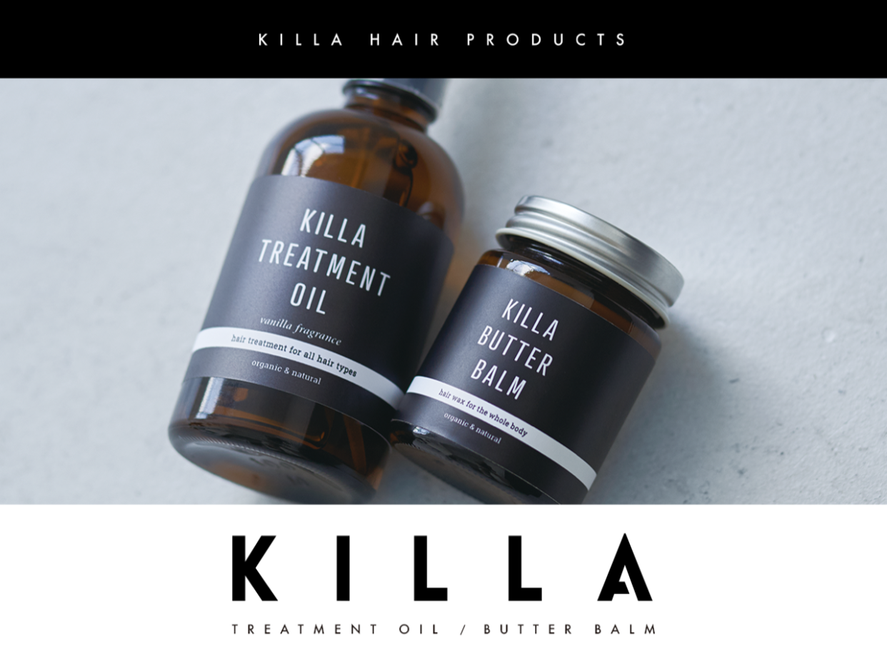 KILLA TEREATMENT OIL / BUTTER BALM