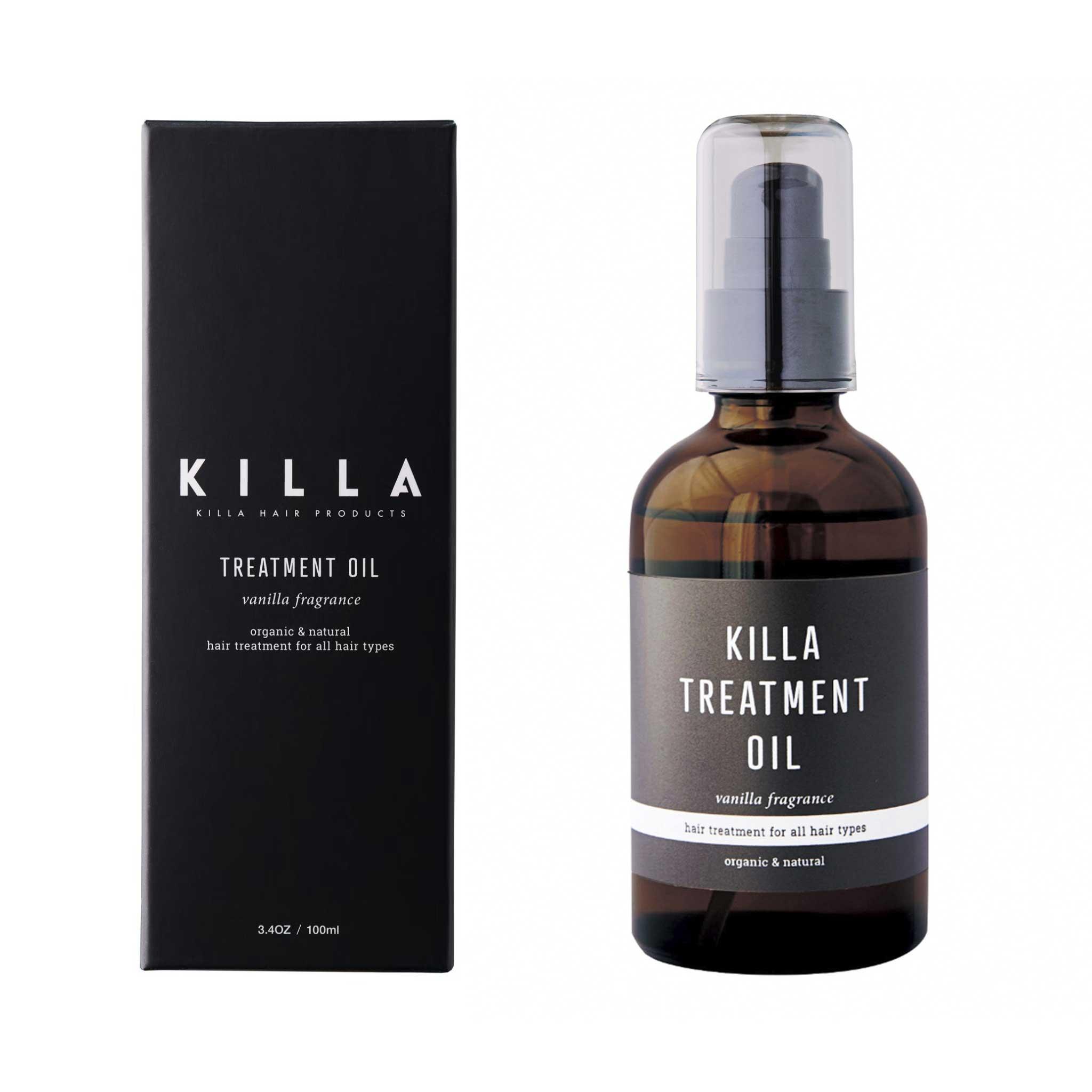 KILLA TREATMENT OIL【キラ トリートメント オイル】