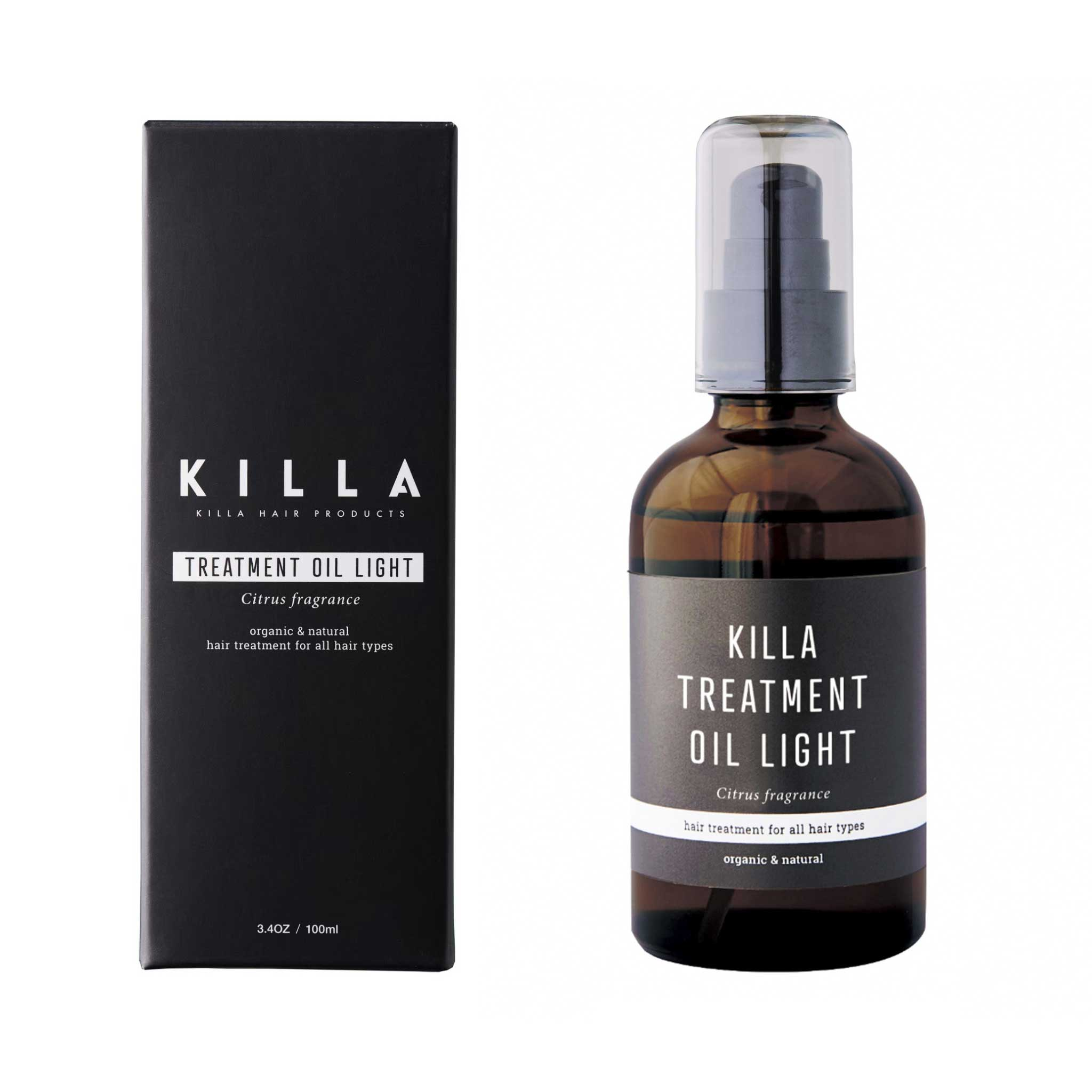 KILLA TREATMENT OIL LIGHT【キラ トリートメント オイル ライト】